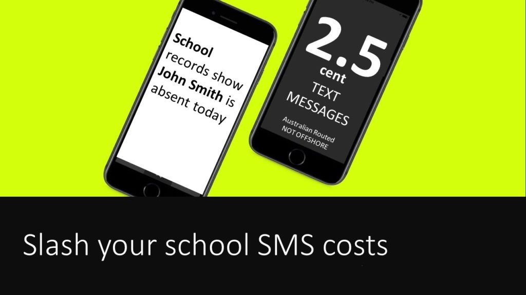 2.5 cent School Text Messaging