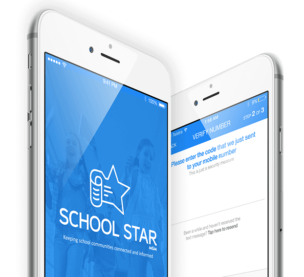 Student information system school app by MGM